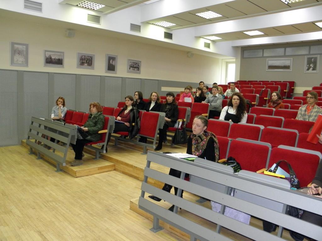Konferencijos pradžioje