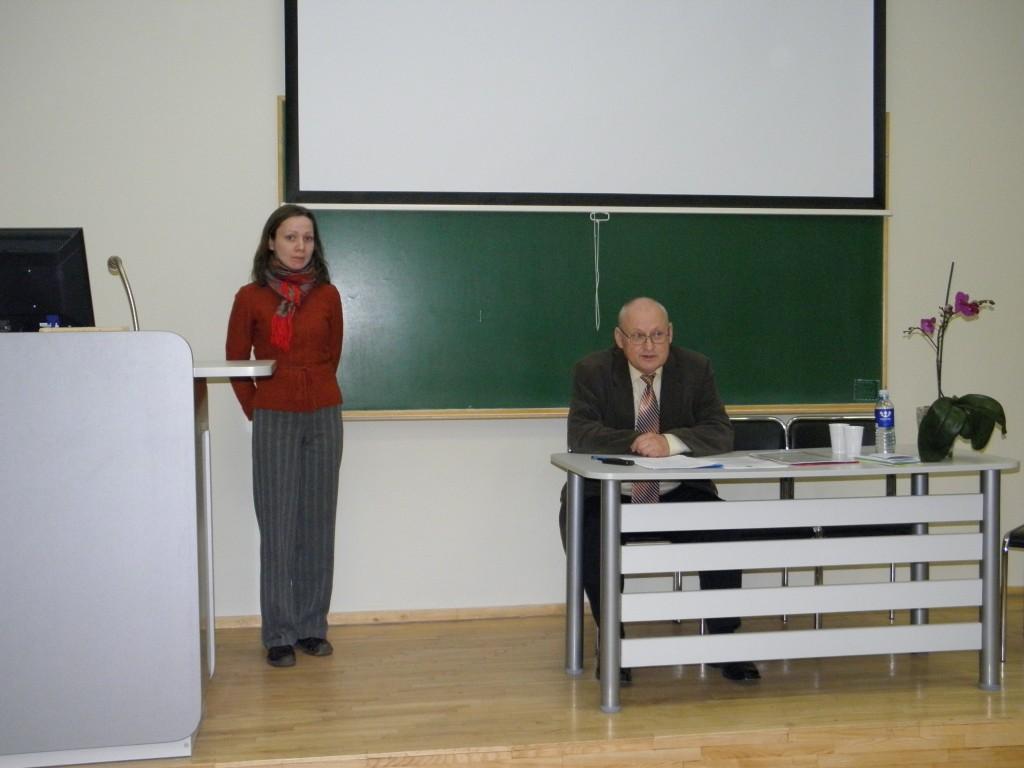Konferencijos pabaigoje